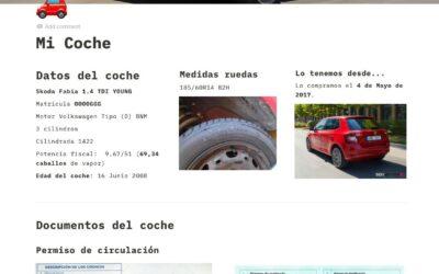 Ficha de Coche