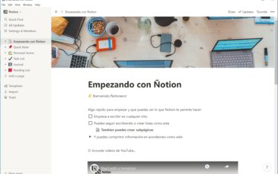 ¿Es bueno Notion para estudiantes?